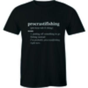 Procrastifishing Noun - Outdoor Fish Lover T-shirt